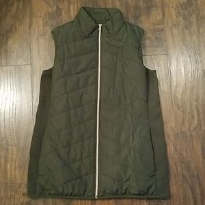 Motherhood Maternity Green Vest Medium